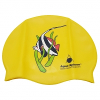 # Aqua Sphere Classic Junior - Schwimm- & Badekappe - gelb