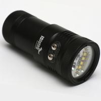 iDiving Tauchlampe 5000 Lumen mit Rot & UV-Licht - iDiving Video 5000 - 5000 lumen video torch - Einzelstück wird nicht mehr produziert