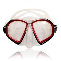 # Balzer Tauchmaske Nova mit Ventil Rot - Abverkauf