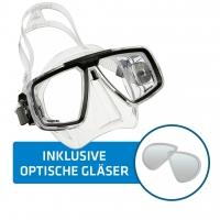 Aqualung Tauchmaske Look inkl. opt. Gläser - montiert