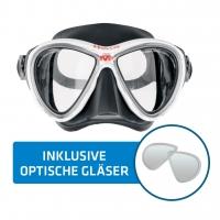 Hollis Tauchmaske M3 inkl. opt. Gläser - fertig montiert