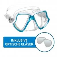 Tauchmaske inkl. optischer Gläser Mares Wahoo