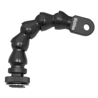 BigBlue 6 Zoll Flexible-Arm Hot Shoe/YS (15 CM) - Flexarm mit Cold Shoe Adapter und YS Anschluss