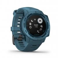 Garmin Smartwatch INSTINCT Blau/Dunkelblau mit Silikon-Armband Blau