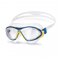 Head Schwimmbrille Horizon - gelb/blau