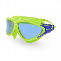 Head Kinderschwimmbrille Rebel JR - lime/blau getönt