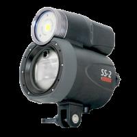 ID - Symbiosis Unterwasserblitz mit 4000 Lumen Videolampe - Symbiosis Lightning System SS-2 - 4000 Lumen head