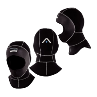 Kallweit Kopfhaube - 5/7 mm - für IDM - Vollgesichtsmaske