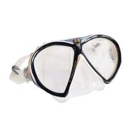 Favola Maske - clear silicone - lavendel