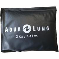Aqualung Soft-Stahl (INOX) - Gewicht - 2 kg