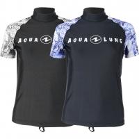 # Aqualung Rash Guard Aqua - Short Sleeve - Damen - Abverkauf