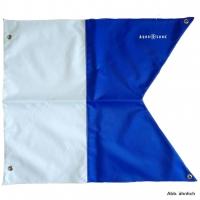 Aqualung Alpha Flagge 100 x 120