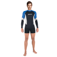 Rash Guard UPF Block 80+ - Herren - Blau