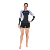 Rash Guard UPF Block 80+ - She Dives - Violett