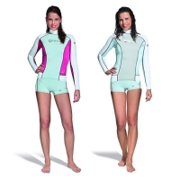 # Mares Trilastic Rash Guard  - Langarm - She Dives