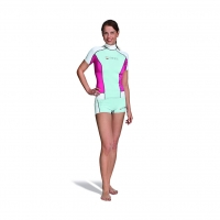 # Mares Trilastic Rash Guard - Kurzarm - She Dives - Pink