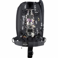 Mares Psycho Calavera - Single Backmount Set