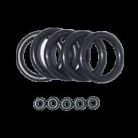 M&M - O-Ring Set - 5x DIN & 5x Swivel