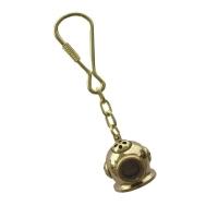 M&M Messing Schlüsselanhänger - Taucherhelm