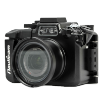 Nauticam Unterwassergehäuse für Sony RX100 5 - NA-RX100V housing for Sony Cyber-shot DSC-RX100 V Digital Camera