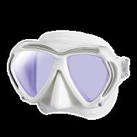 Tusa Tauchmaske Paragon - White - White Amber