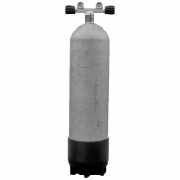 Polaris 12 L lang Tauchflasche 300 bar - hot dipped Steel Beast - Twinventil 12930