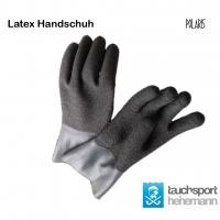 Latex Handschuhe schwarz mit rauher Oberfläche