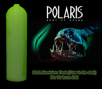 Alu MES 11.1 Liter - 207 bar - Glow in the Dark Leucht-Beschichtung