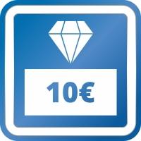 Prämie - Gutschein 10,00 EUR
