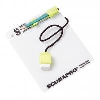Scubapro Schreibtafel Basic Fluoriszierend