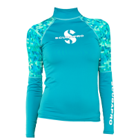 Scubapro Rash Guard UPF-50 - Damen - Langarm - Multicolor