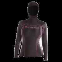 # Chillproof Langarm Shirt mit Kopfhaube - Damen - Restposten