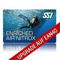 SSI Specialty - Tauchen mit Nitrox - Upgrade auf EAN40