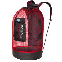 Stahlsac - Mesh Backpacks - Panama Mesh Backpack - Red
