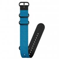 Suunto D5 - Dive 2 Zulu-Textilarmband - 24 mm - L - blue/black