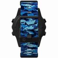 Shearwater TERIC Nylon Strap Kit - MARINA BLUE SHARK CAMO