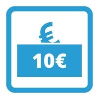Gutschein - 10,- €