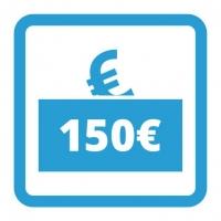 Gutschein - 150,- €