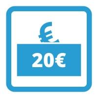 Gutschein - 20,- €