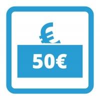 Gutschein - 50,- €