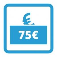 Gutschein - 75,- €