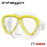 TUSA Intega - Tauchmaske - Flash Yellow