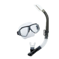 Tusa UC-7519 Splendive Maske-Schnorchel-Set - Smoke
