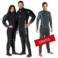 Aktionsbundle - Waterproof D70 Trockentauchanzug inkl. Mares Unterzieher